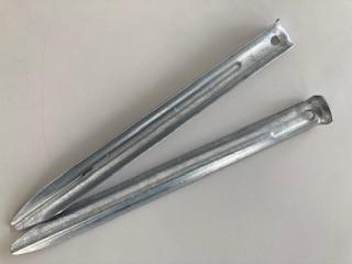 Zelthering Stahl verzinkt 208 mm